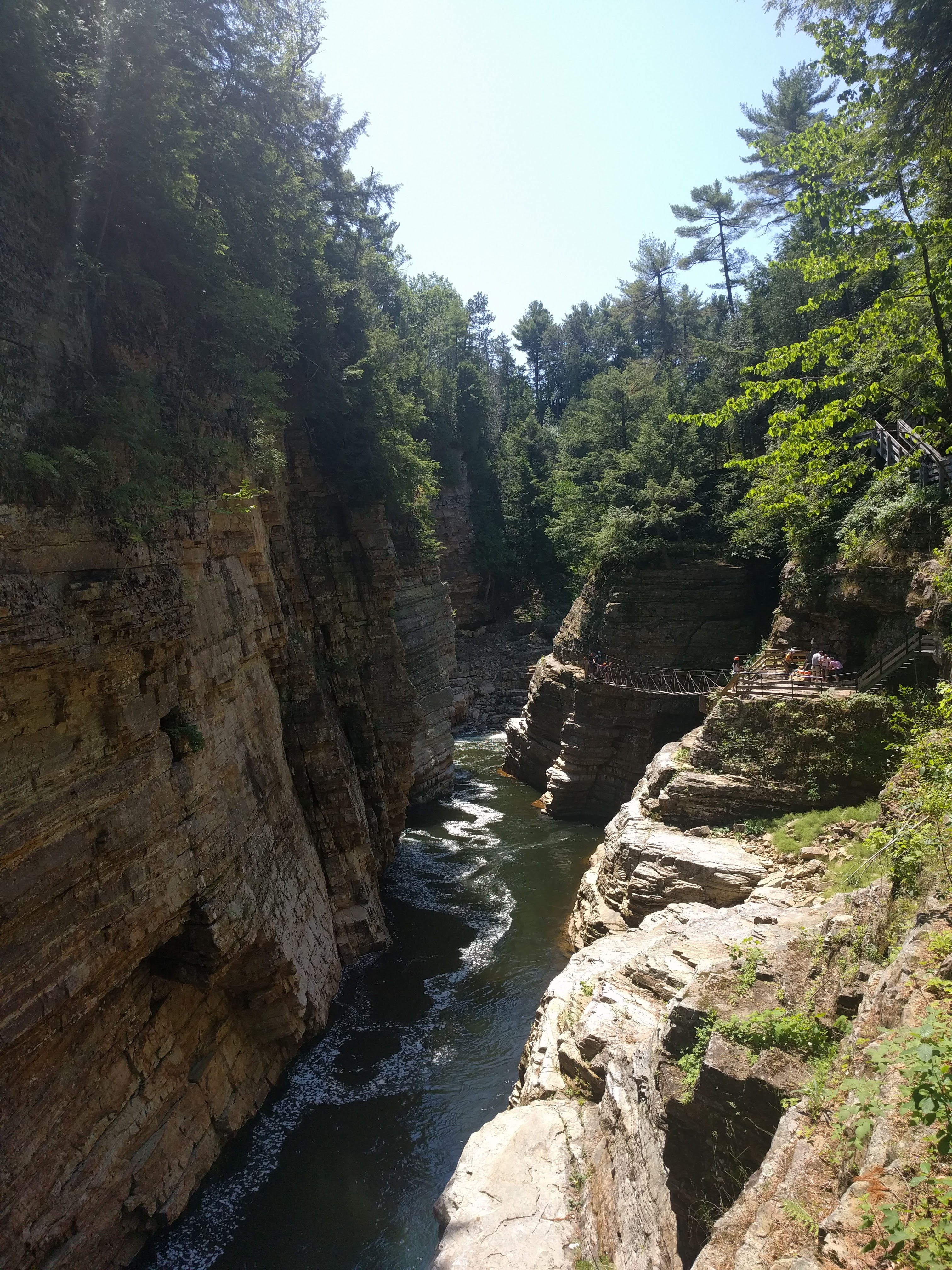 Visiter Ausable Chasm - Paysage