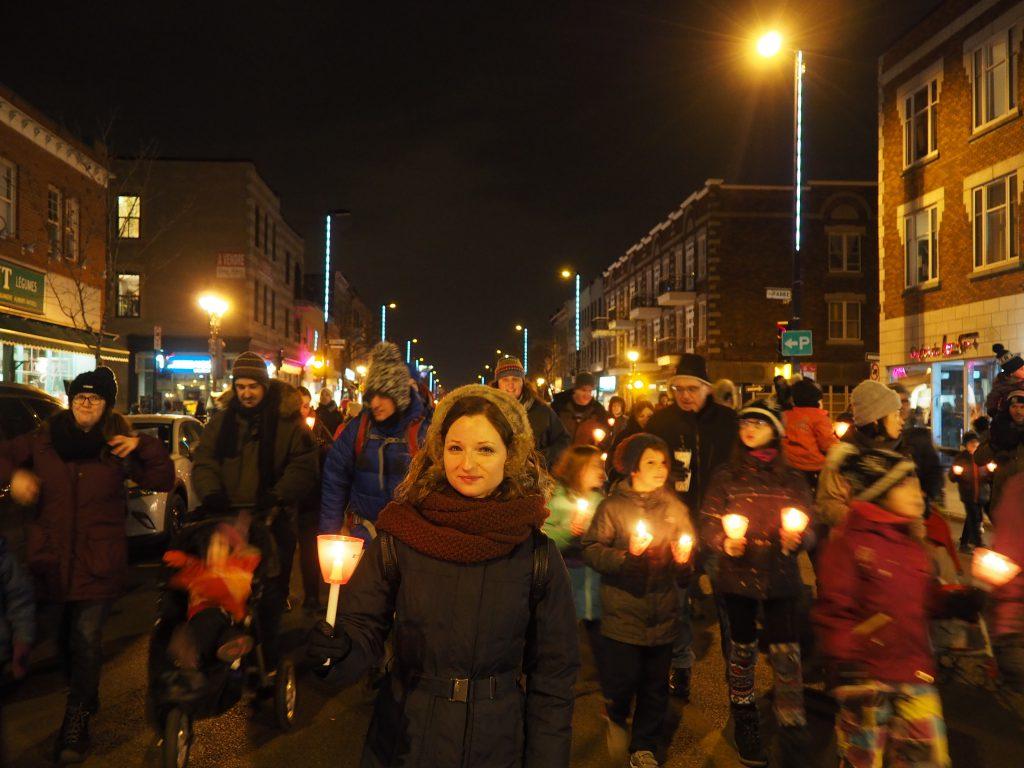 Marche aux Flambeaux - Ambiance de Noël à Montréal
