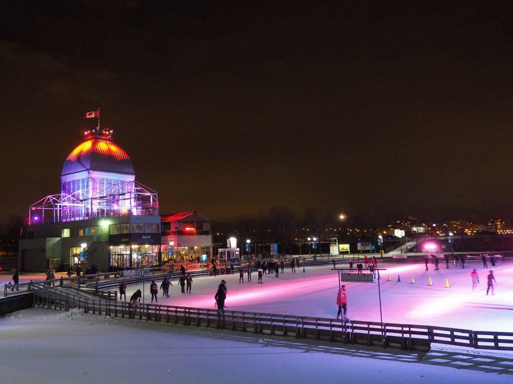 Vieux Port- Ambiance de Noël à Montréal