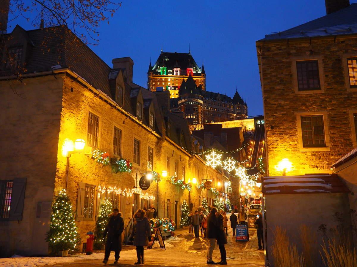 Magie de Noel à Québec