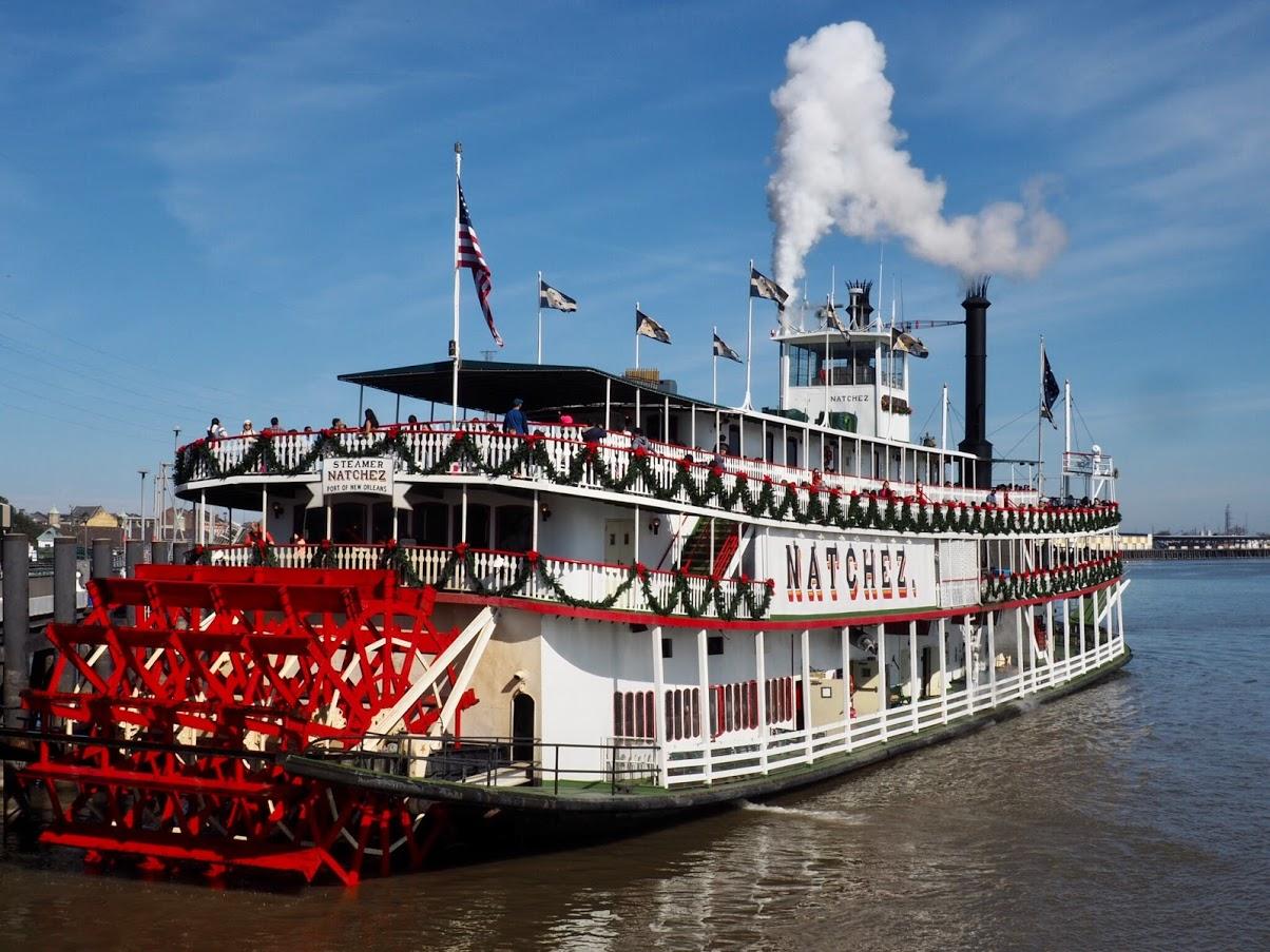 Steamboat Natchez - Nouvelle Orléans