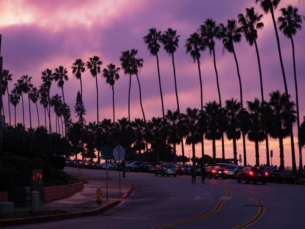 Coucher de Soleil - La Jolla - San Diego