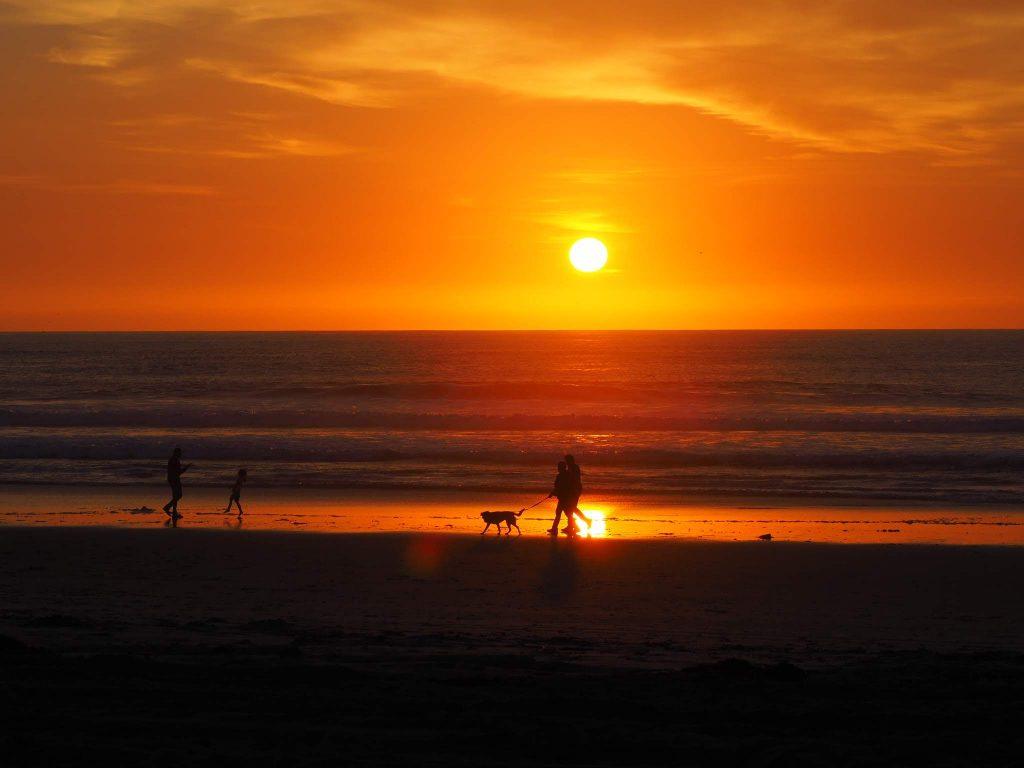 Coucher de soleil - Pacific Beach - San Diego