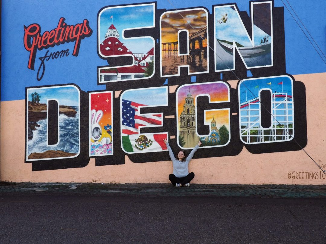 Visiter San Diego 4 jours - greetings from San Diego