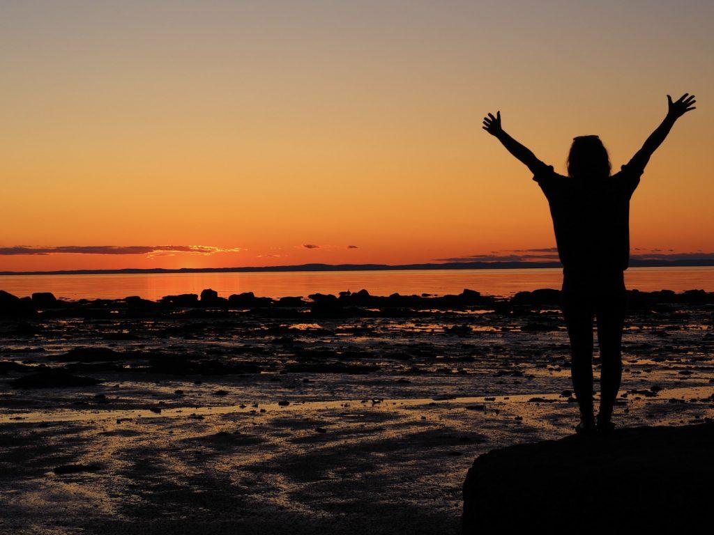 Coucher de soleil - Parc National du Bic